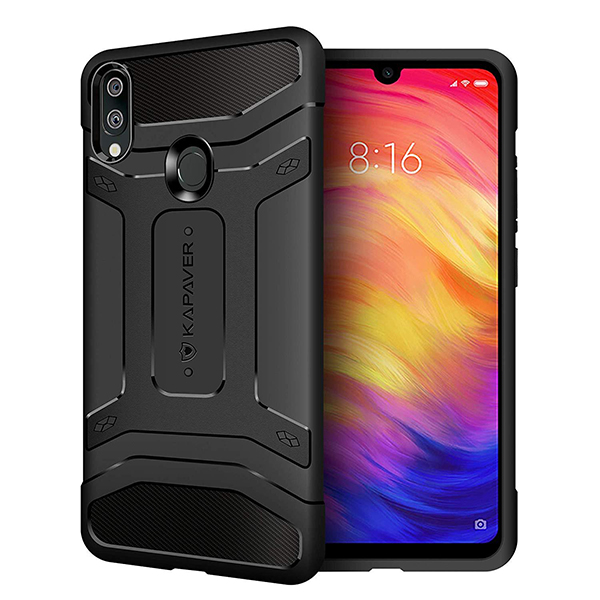 Kapaver Rugged Case For Redmi Note 7 /Pro / 7S